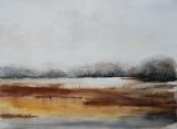 Landschap Aquarel 50 x 70